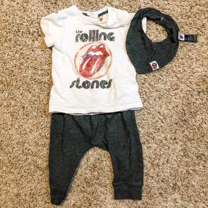 H&M Rolling Stone Jogger 3 Piece Outfit